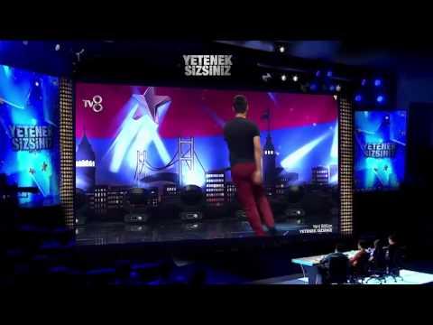 Serdar Gül 'Dans Gösterisi' - Yetenek Sizsiniz Türkiye 22 Kasım 2014
