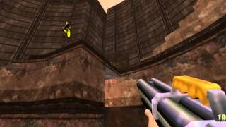 Quake 2 - haunted ssg jump to finish on CAREEM