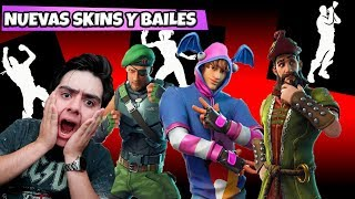 New SKINS and BAILES FILTRATED in FORTNITE - Gunner496