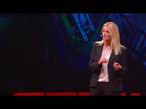 Surfing wakefields to create smaller accelerators | Edda Gschwendtner | TEDxCERN