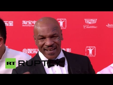 China: Jackie Chan, Mike Tyson hit red carpet for Shanghai International Film Festival
