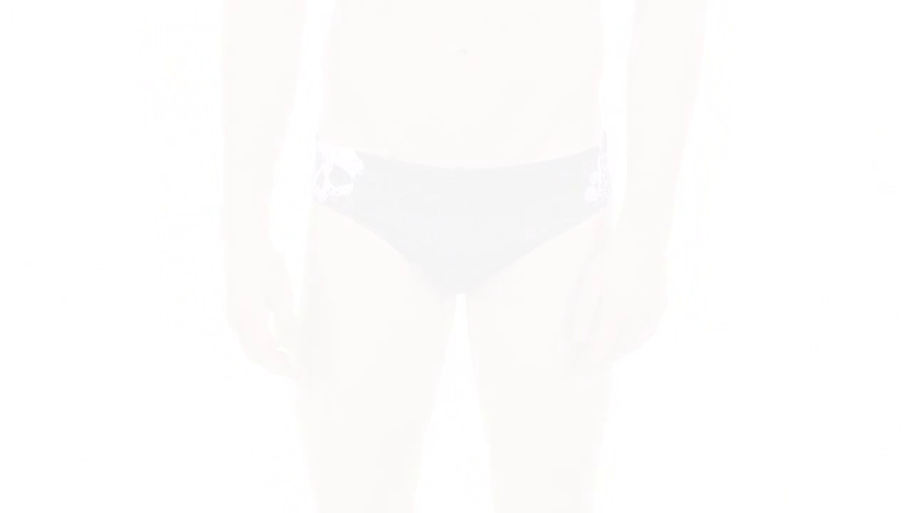 6bafc9c537 HARDCORESPORT Skulls Men's Brief Swimsuit | SwimOutlet.com - YouTube