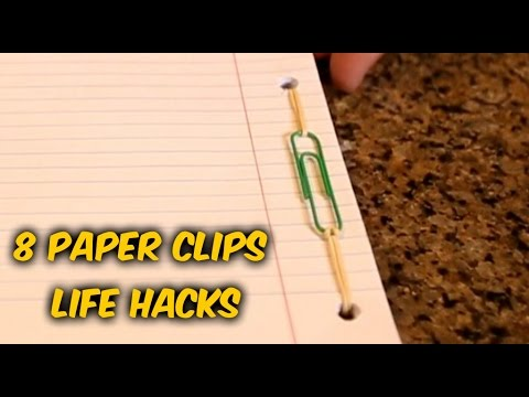 New Ways to Use Paper Clips — Paper Clip Hacks