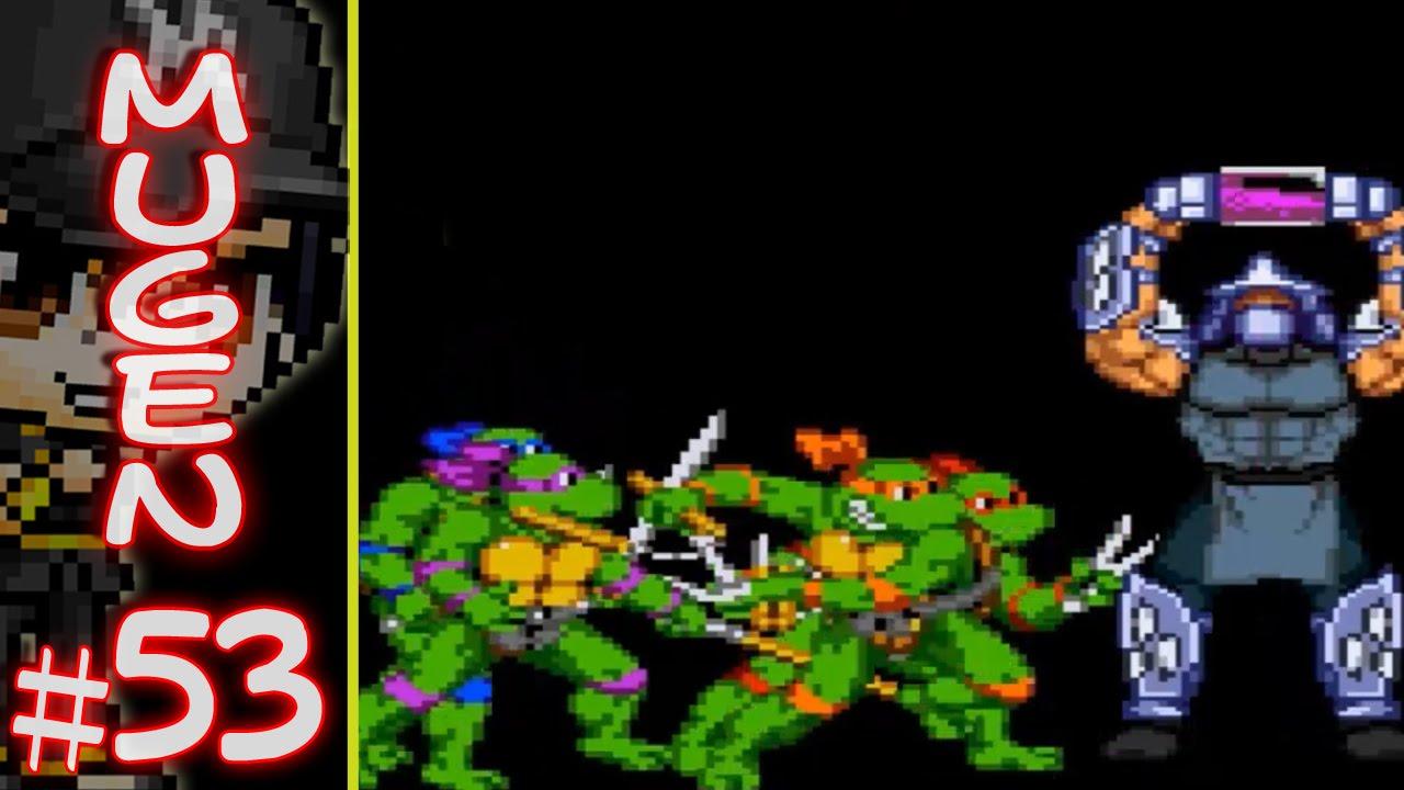 SS117 M U G E N: The Teenage Mutant Ninja Turtles Vs  ???