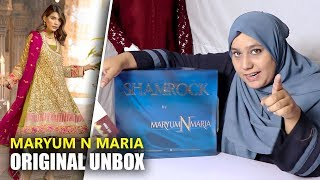 9aaf6fb6cd Maryum N Maria Shamrock 2019 - Unbox Beo MMS-505 - Maria B Sara Clothes