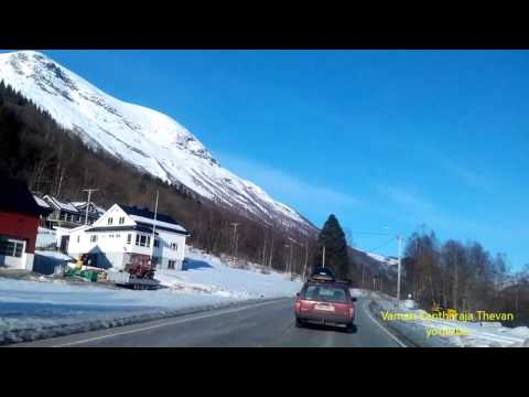 How Look From  Sykkylven To  Stranda. Road No 60 Norway 2017