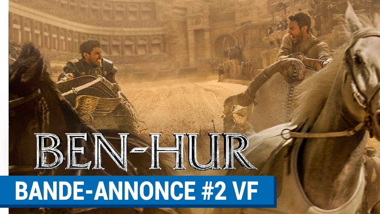 BEN-HUR - Bande-annonce #2 (VF) [au cinéma le 7 septembre 2016]