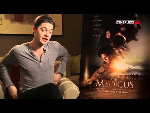 "Interview Tom Payne ""Der Medicus"""