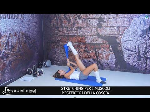 Stretching polpacci e caviglie doovi for Workout esterno coscia