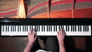 Bach 2 Part Invention No.9 - P. Barton, FEURICH Harmonic Pedal piano