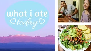 What I Ate Today || VEGAN & HEALTHY || + CHRISTENING OUR BEAUTIFUL KITCHEN!!!