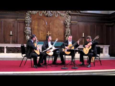 """Baltic Guitar Quartet - """"Summer dance"""" - Chris Ruebens"""