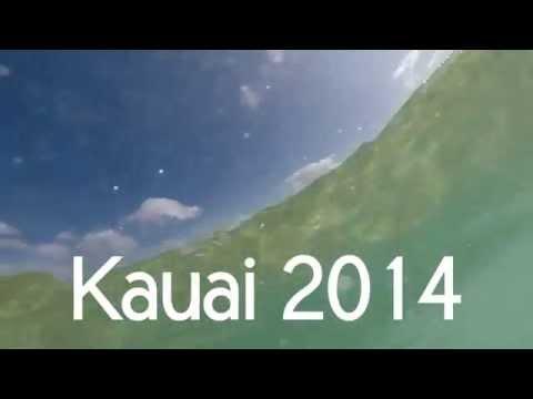 Chris & Carly in Poipu, Kauai 2014