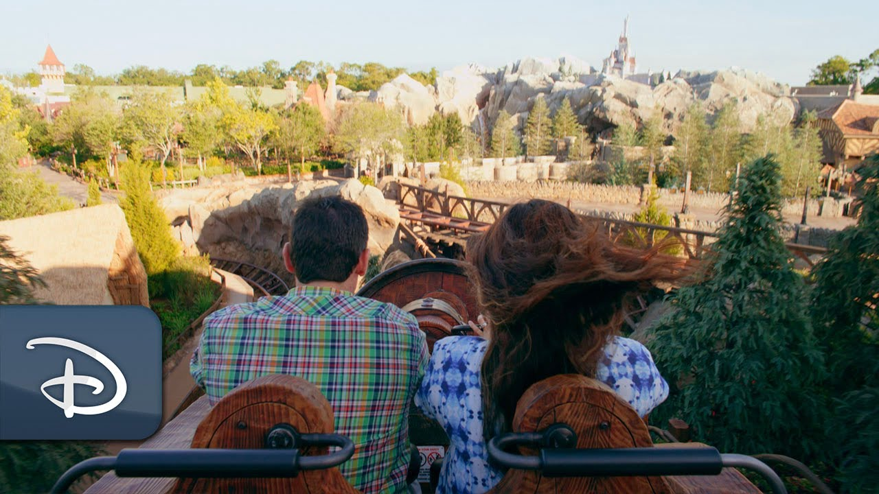 Heigh-Ho...Take a ride on Seven Dwarfs Mine Train!