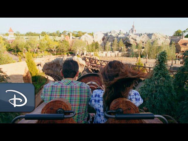Heigh-Ho...Take a ride on Seven Dwarfs Mine Train!
