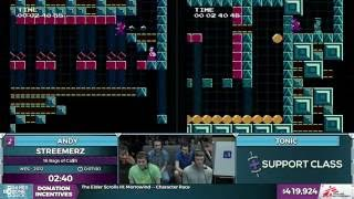 Streemerz race by Andy and tonic in 5:45 - SGDQ 2016 - Part 110