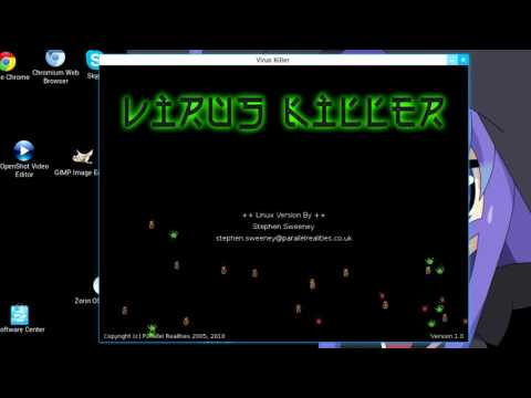Virus Killer ~ Linux Game