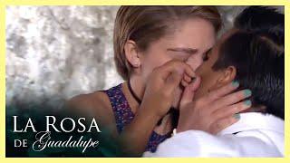 La Rosa de Guadalupe: Esmeralda le roba un beso a su chofer   Tú, la canción más bella de todas