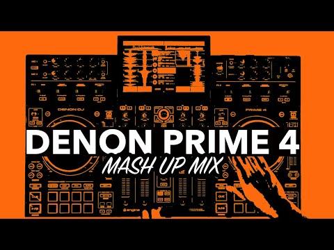 Mash Up Live DJ Mix - Denon Prime 4 - #SundayDJSkills
