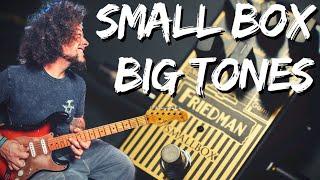 Friedman Small Box Pedal | A whole Lotta Tone.... In A Small Box!!!