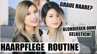 blondieren ohne gelbstich haarpflege routine f r