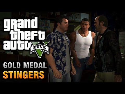 GTA 5 - Mission #73 - Planning the Big Score (Subtle) \ Stingers [100% Gold Medal Walkthrough]