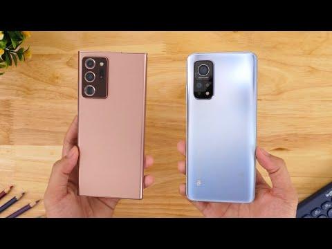 So sánh vui Xiaomi Mi 10T Pro vs Galaxy Note 20 Ultra 5G - Đừng đùa với Xiaomi!!!