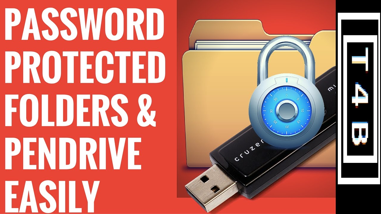 Drive a thumb password protect