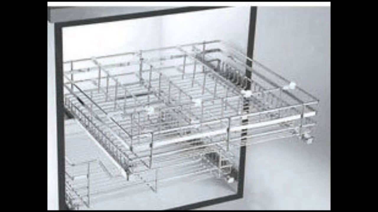 SONIA Adjustable Steel Kitchen Baskets,Custom Stainless Steel Baskets,Perforated  Modular Basket.   YouTube