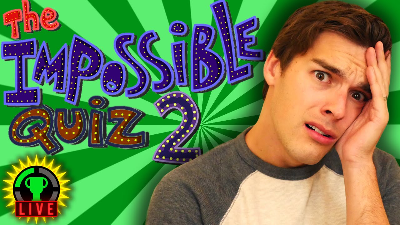 GT Live: The Impossible Quiz 2 - GOING INSANE! - GT Live: The Impossible Quiz 2 - GOING INSANE!