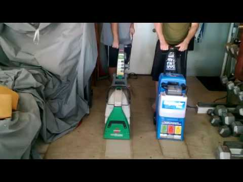 Great Rug Doctor Vs Bissell Big Green Deep Cleaning Machine
