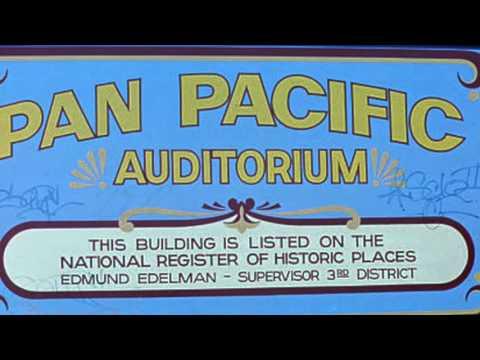 The Pan Pacific Auditorium