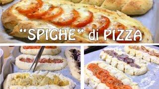"PIZZE a ""SPIGHE"" - Ricetta Facile e Gustosa - TUTTI A TAVOLA"
