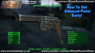 Possible Location of Suppressed Powerful 10mm Pistol Get It Early Fallout 4 PC Max Graphics 1080p