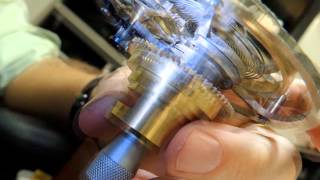 T4 Tourbillon Model Prototype fully functional during its first big...