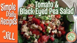 Tomato & Black Eyed Pea Salad