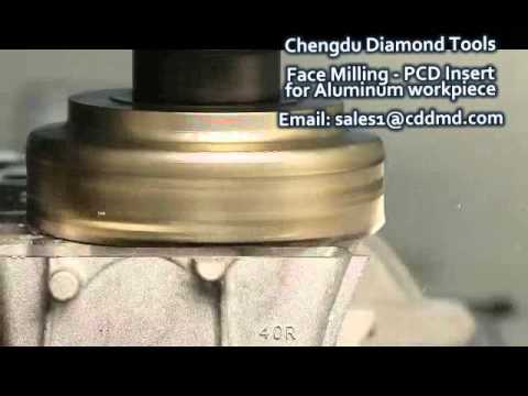 Face milling aluminum- PCD inserts