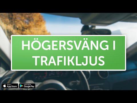 ÖVNINGSKÖR - Högersväng i trafikljus