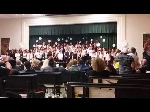 Boca Raton Community Middle School Chorus show December 2014