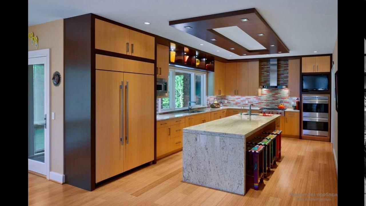 Kitchen plaster ceiling design - YouTube