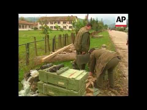 Mrkonjić Grad/Bjelajce nakon granatiranja  -  jesen 1995.  godine