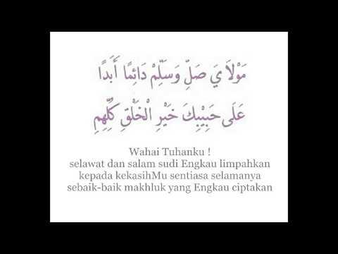 Qasidah Selawat Burdah Beserta Lirik Terjemahan Bahasa Melayu