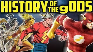 HISTORY OF THE gods & the Evolution of Comic Heros 👺 Satan's Descent