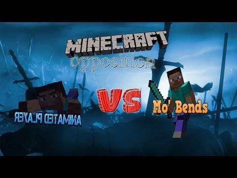 Противостояние модов в Minecraft { Mo' Bends Vs Animated Player }