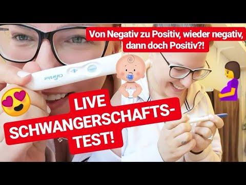 LIVE SCHWANGERSCHAFTSTEST! Von NEGATIV Zu POSITIV! Kinderwunsch Rückblick Teil 2