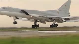 Дальние бомбардировщики ВКС РФ Ту-22м3 нанесли очередные бомбовые удары по объектам  ИГИЛ в Сирии