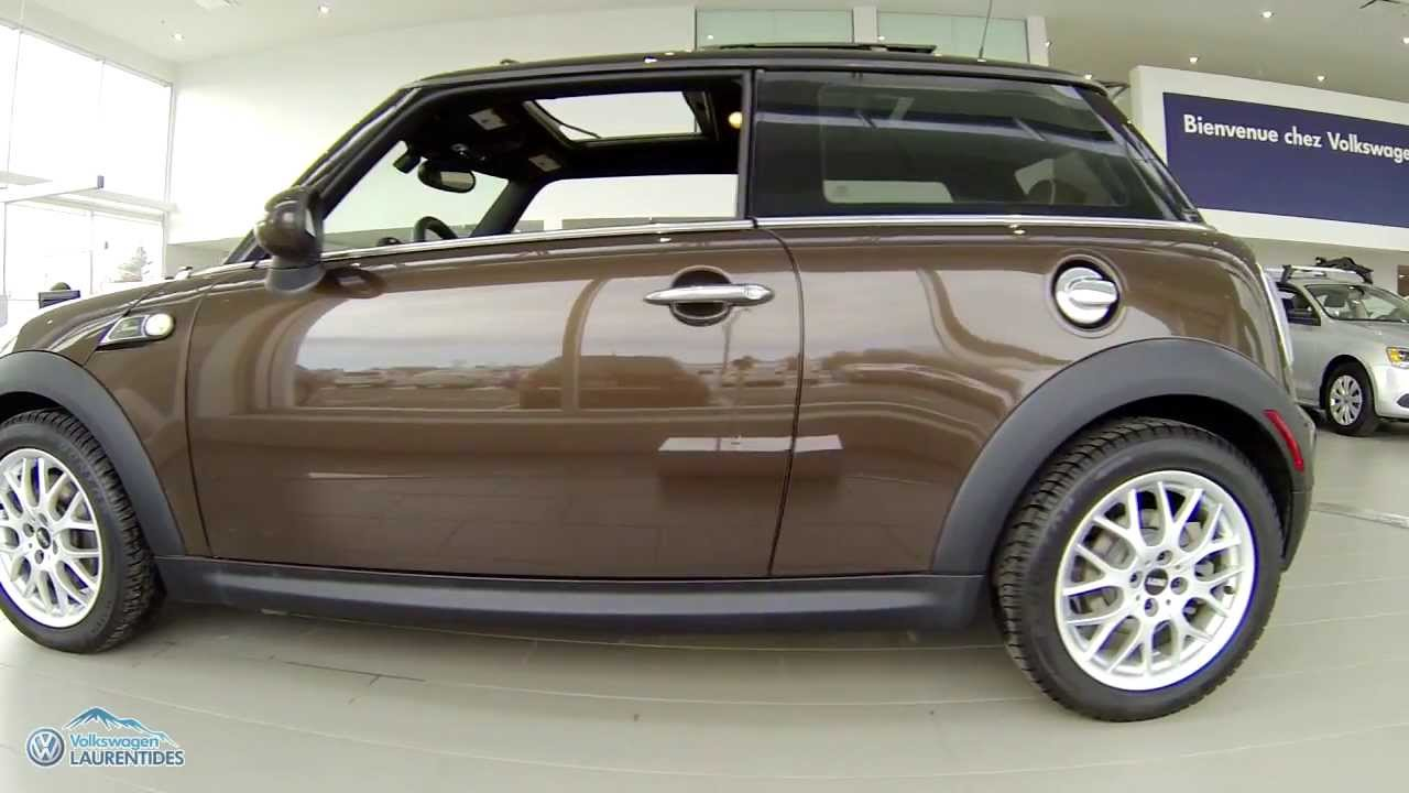 Mini Cooper S Mayfair Edition 2010 P 1513 Youtube