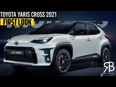 All New Toyota Yaris Cross Hybrid 2021 | First Official ...