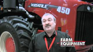 New 4-WD Tractors From Versatile Ag for 2012