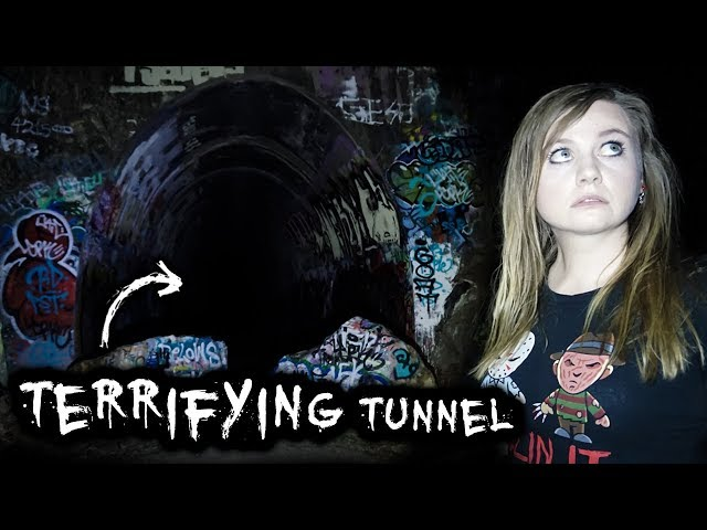 SCARIEST HAUNTED Tunnel at NIGHT |  Ernest Junction Tunnel, Australia